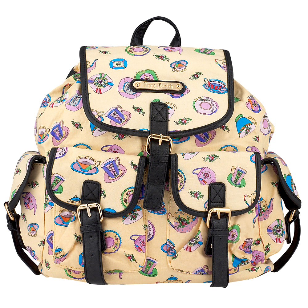 Anna Smith - Anna Smith A7082CH - ΚΡΕΜ outlet   αξεσουαρ   τσάντες   backpack