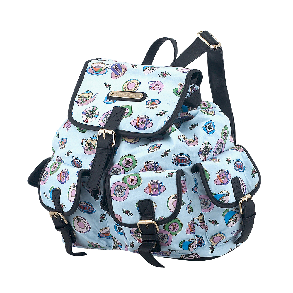 Anna Smith - Anna Smith A7082CH - ΣΙΕΛ outlet   αξεσουαρ   τσάντες   backpack