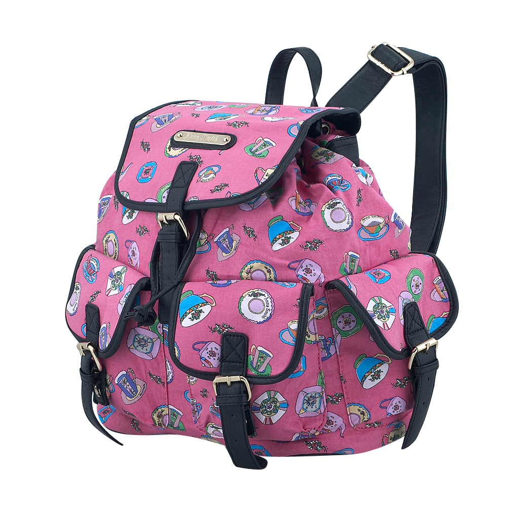 Anna Smith - Anna Smith A7082CH - ΦΟΥΞΙΑ outlet   αξεσουαρ   τσάντες   backpack