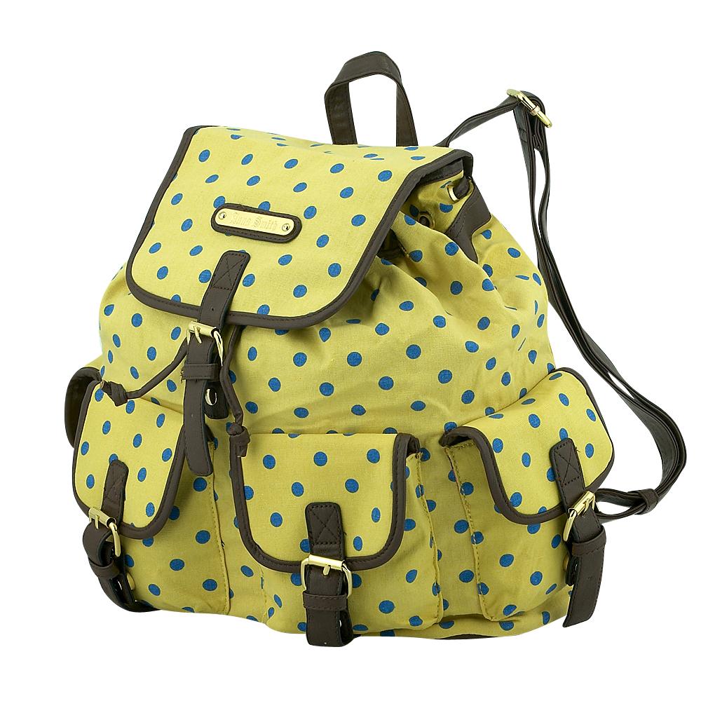 Anna Smith - Anna Smith A7082D - ΚΙΤΡΙΝΟ outlet   αξεσουαρ   τσάντες   backpack