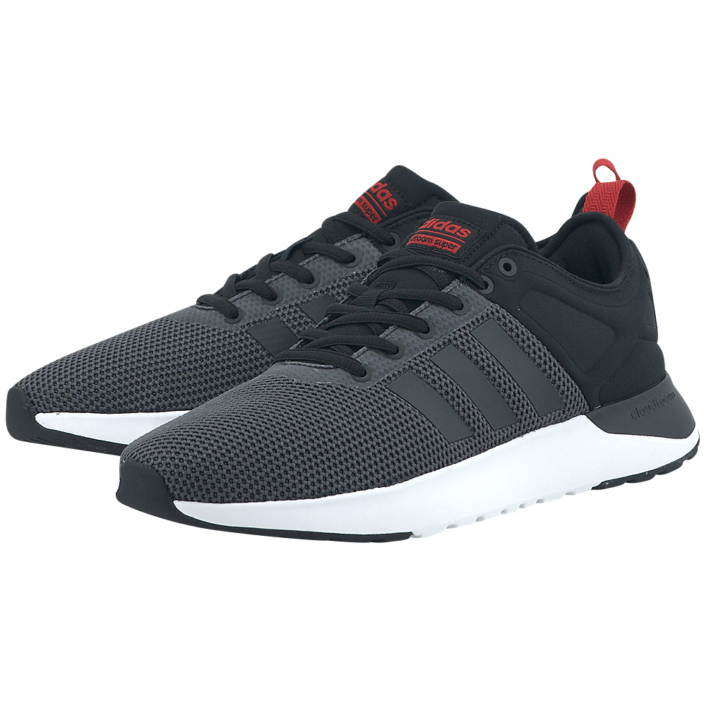 adidas Neo – adidas Cloudfoam Super Racer AW4163 – ΑΝΘΡΑΚΙ