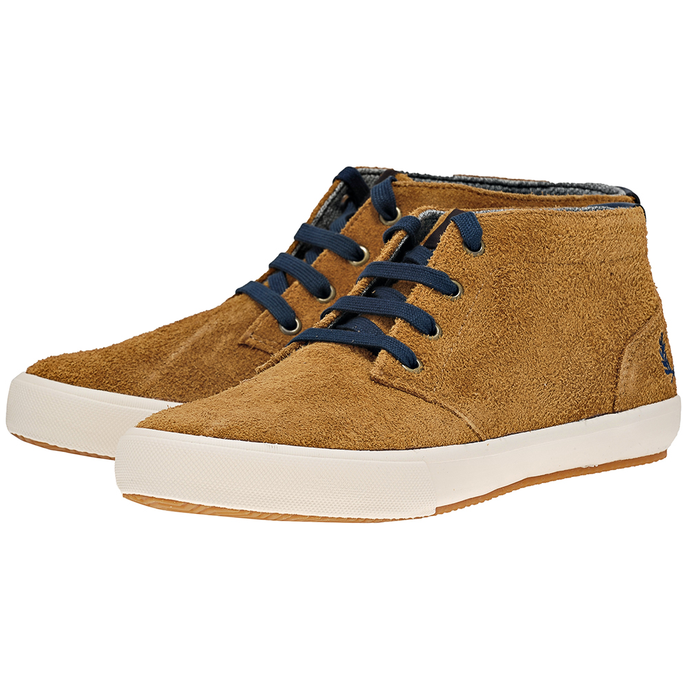 Fred Perry - Fred Perry Bond B1032434-4. - ΜΟΥΣΤΑΡΔΙ outlet   ανδρικα   sneakers   mid cut