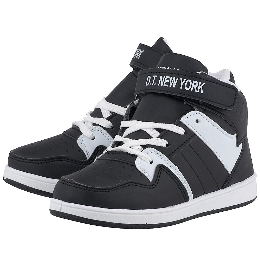 D.T. New York – D.T. New York B162180 – ΜΑΥΡΟ/ΛΕΥΚΟ