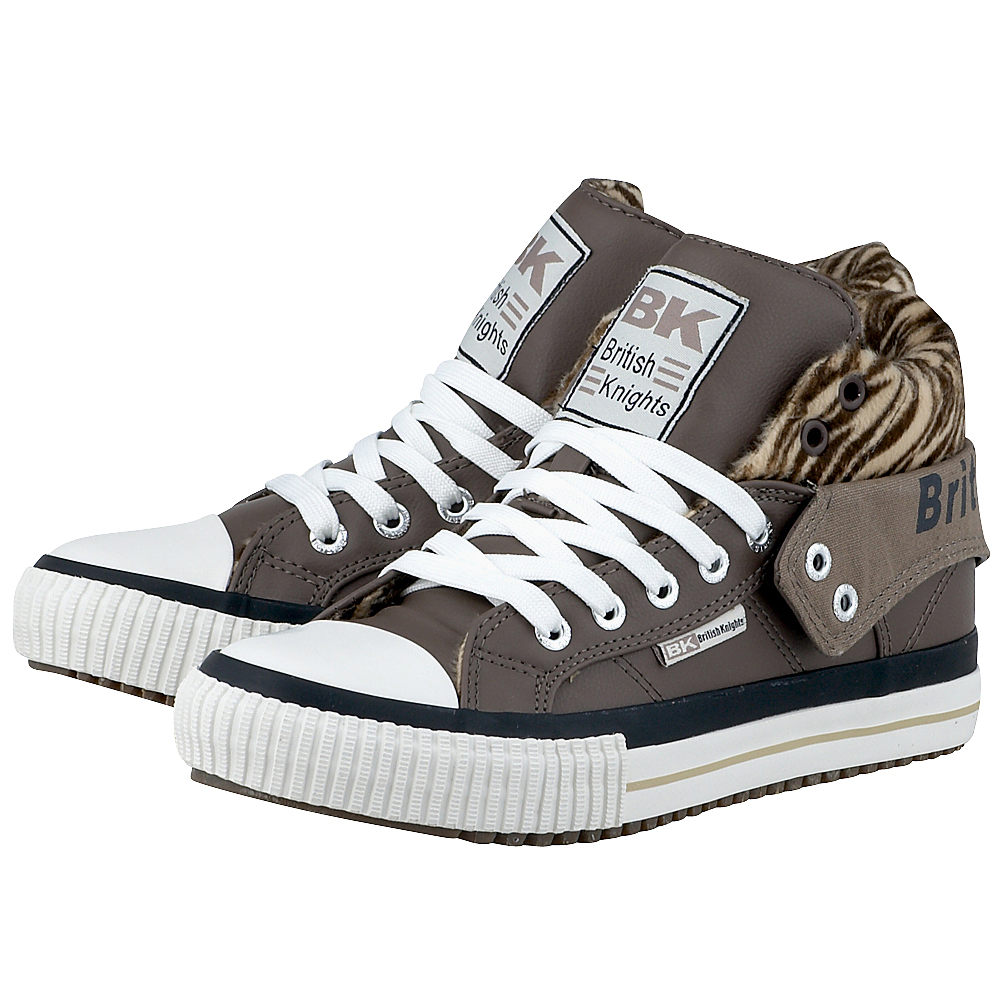British Knights - British Knights B34-3751-01 - ΠΟΥΡΟ outlet   γυναικεια   sneakers   mid cut