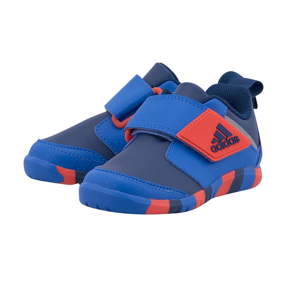adidas Sports – adidas FortaPlay AC I BA9557 – ΜΠΛΕ/ΚΟΚΚΙΝΟ