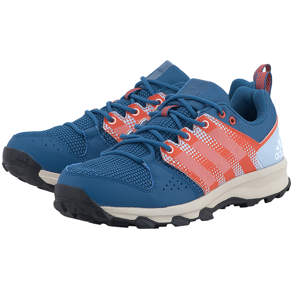 adidas Sports – adidas Galaxy Trail M BB4458 – ΜΠΛΕ/ΠΟΡΤΟΚΑΛΙ