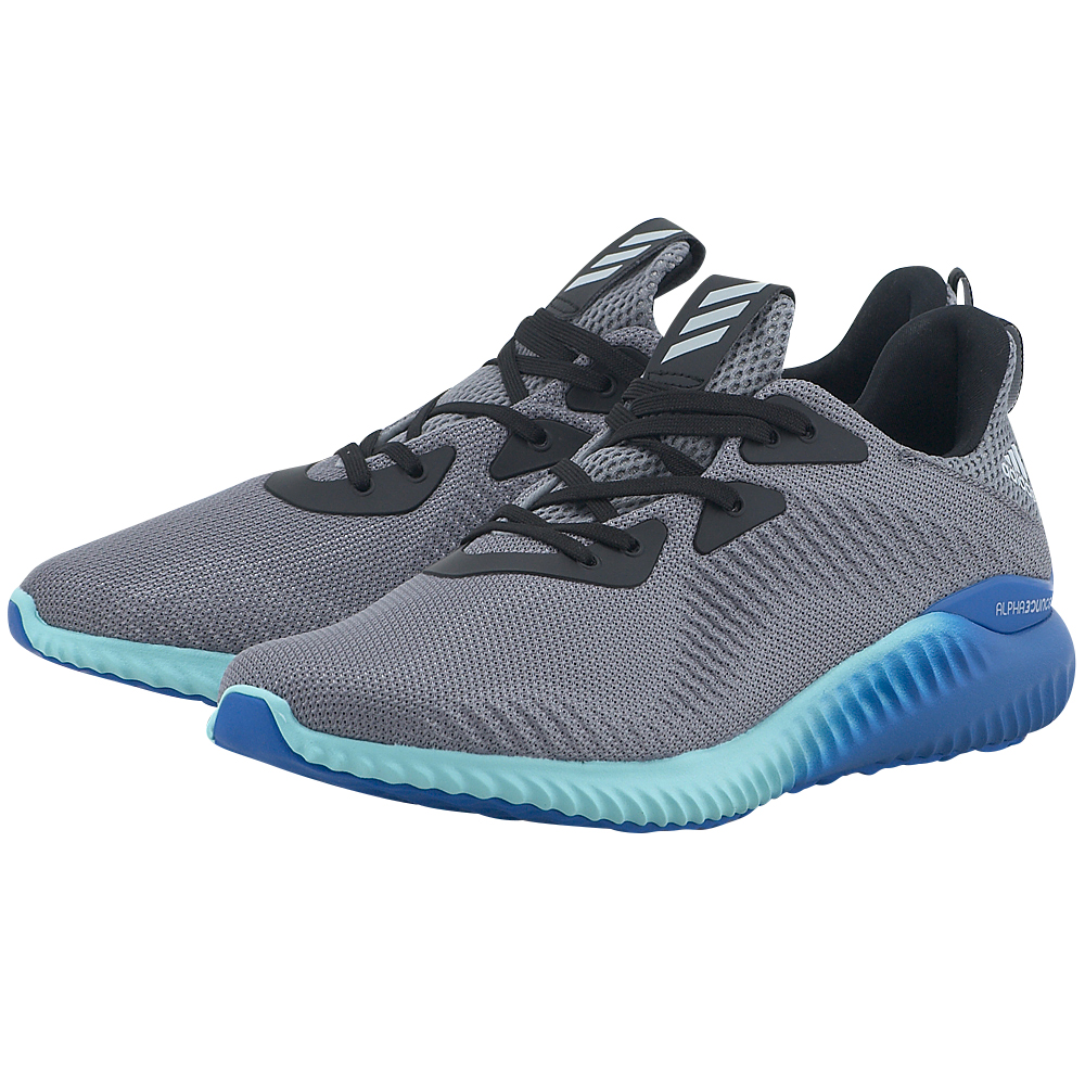 adidas Sports – adidas Alphabounce 1 M BB9035. – ΓΚΡΙ/ΜΠΛΕ
