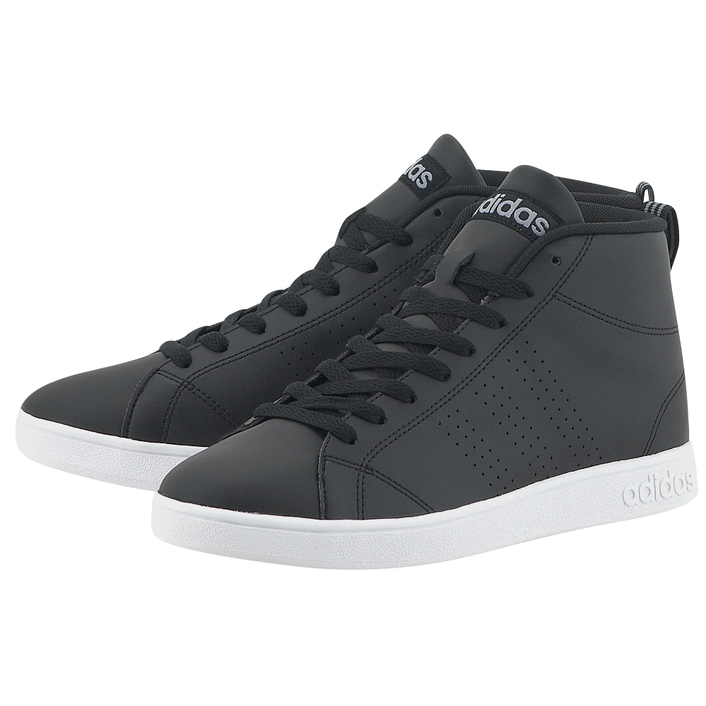 adidas Neo – adidas Advantage Clean Mid BB9896 – ΜΑΥΡΟ