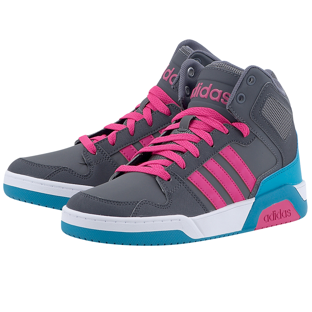adidas Sport Inspired - adidas BB9TIS Mid K BB9958 - ΓΚΡΙ ΣΚΟΥΡΟ