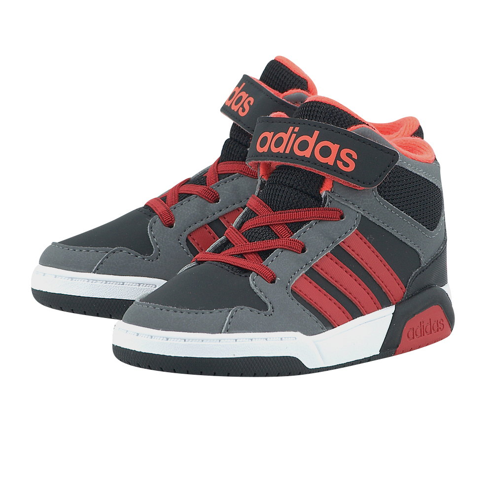 adidas Neo – adidas BB9TIS Mid Inf BB9962 – ΜΑΥΡΟ/ΚΟΚΚΙΝΟ