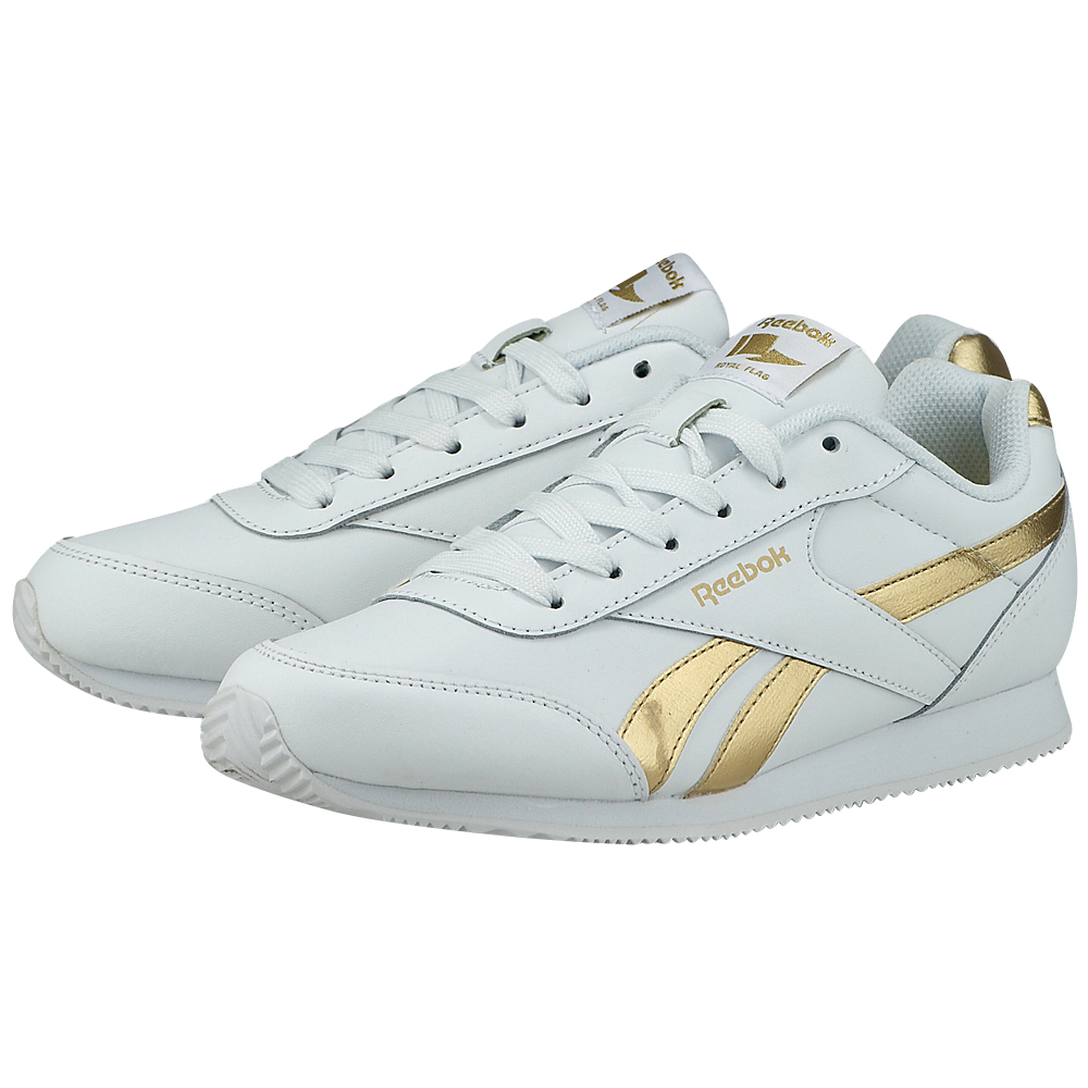 Reebok Classic – Reebok Royal CLJOG 2RS BS8010 – ΛΕΥΚΟ/ΧΡΥΣΟ