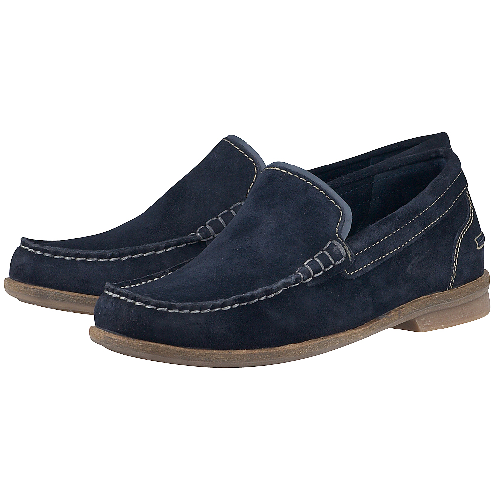 Camel Active - Camel Active CA2334914 - ΜΠΛΕ outlet   ανδρικα   loafers   χωρίς κορδόνι