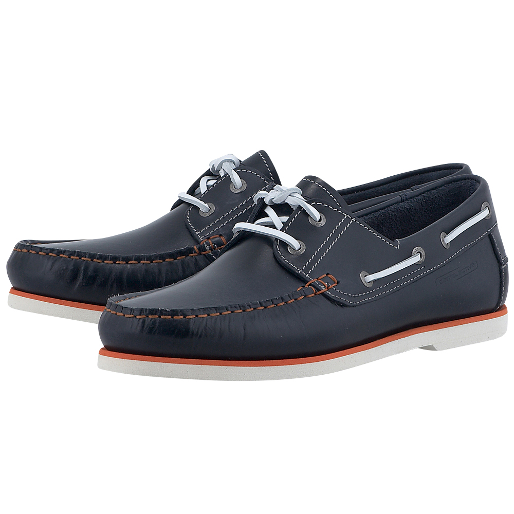 Camel Active - Camel Active CA4861112 - ΜΠΛΕ/ΠΟΡΤΟΚΑΛΙ outlet   ανδρικα   loafers   με κορδόνι