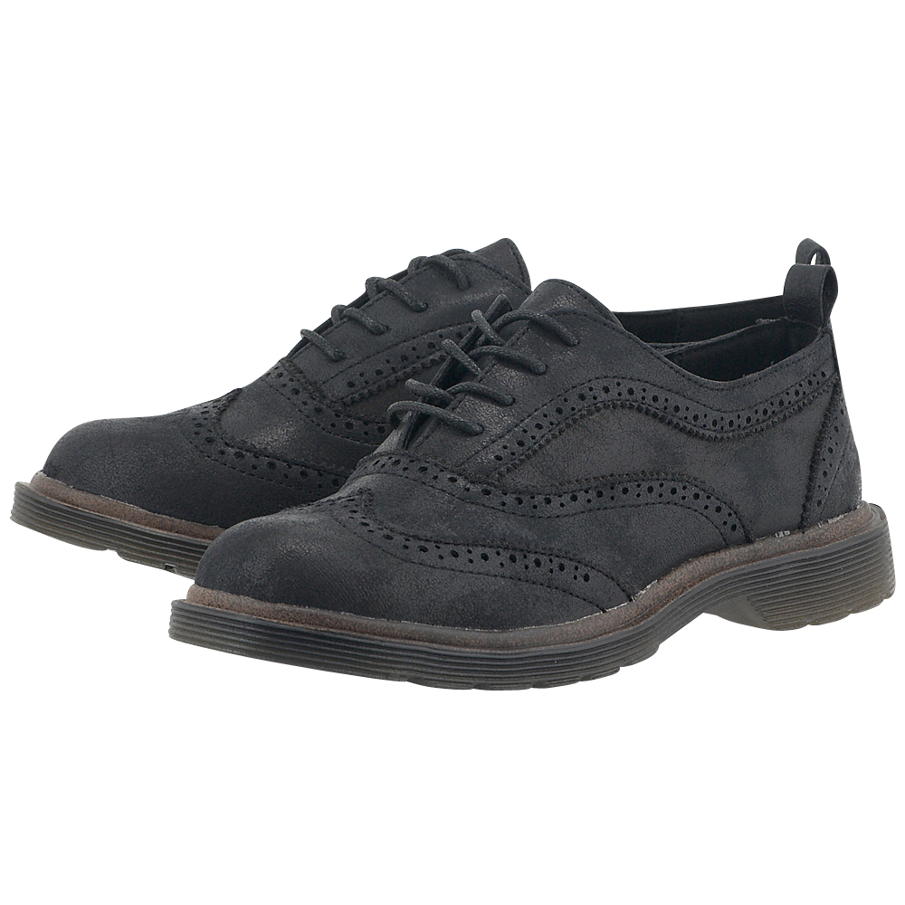 Coolway - Coolway CALI - ΜΑΥΡΟ outlet   γυναικεια   brogues   loafers