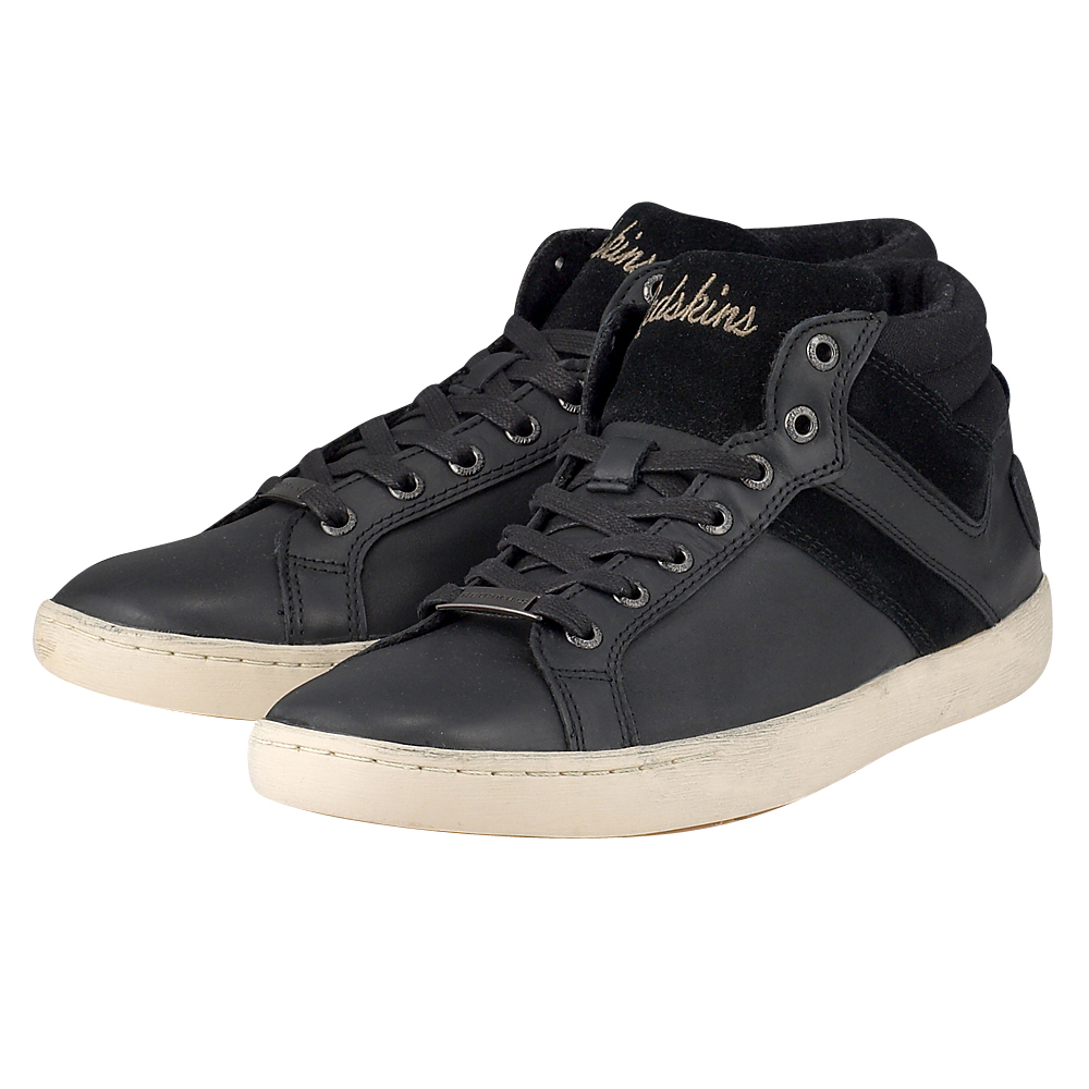 Redskins - Redskins CARNAC - ΜΑΥΡΟ outlet   ανδρικα   sneakers   mid cut