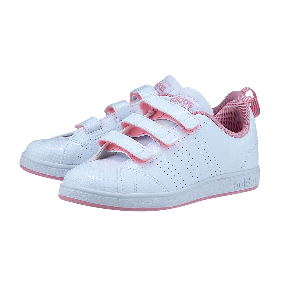 adidas Sport Inspired - adidas Advantage Clean CMF CG5684 - ΛΕΥΚΟ/ΡΟΖ