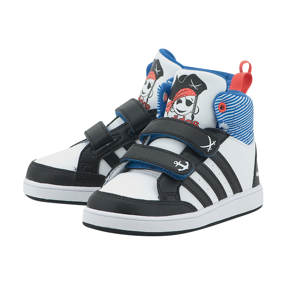 adidas Neo – adidas Hoops Cmf Mid Inf CG5737 – ΛΕΥΚΟ/ΜΑΥΡΟ