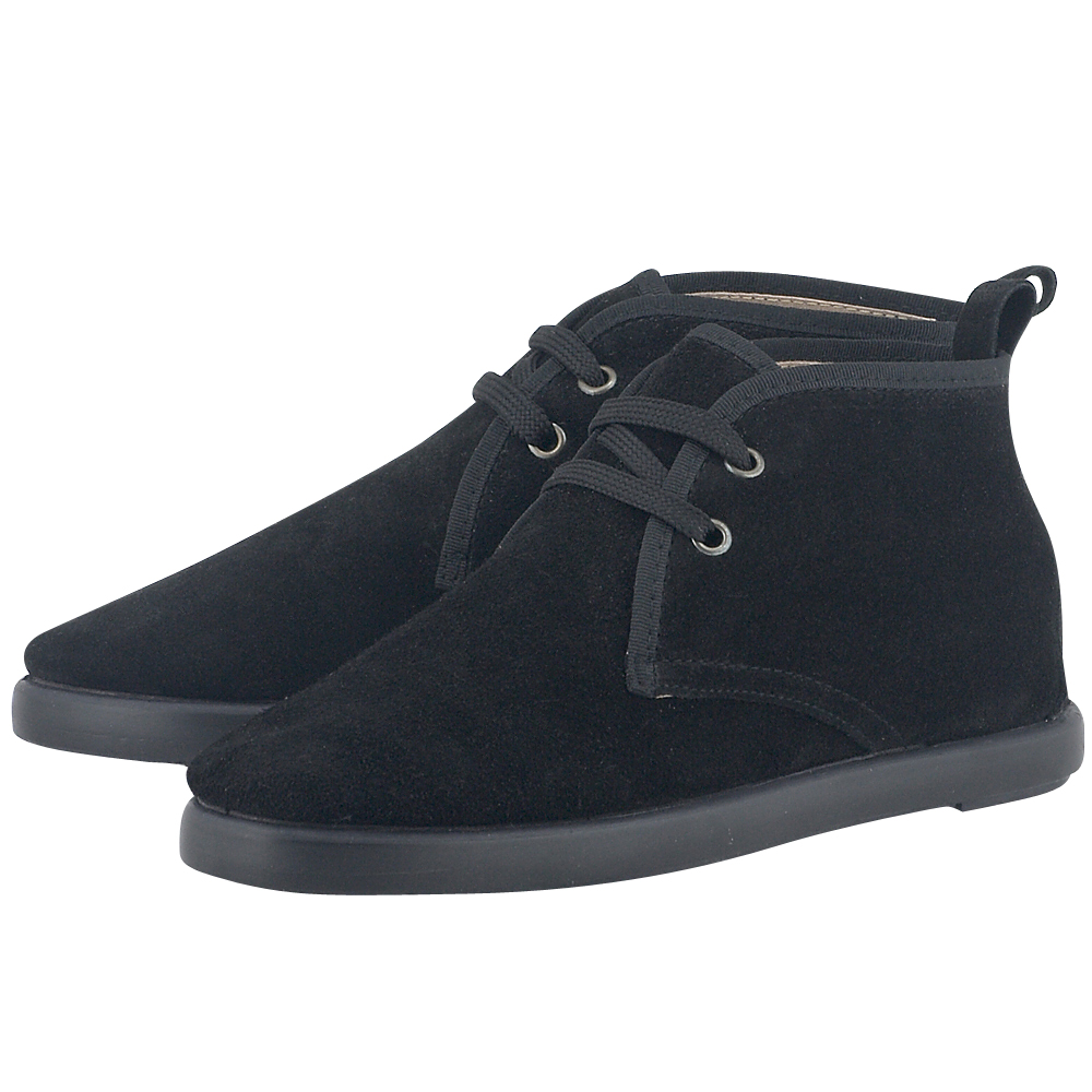 Vulcarini - Vulcarini CI8006 - ΜΑΥΡΟ outlet   γυναικεια   sneakers   mid cut