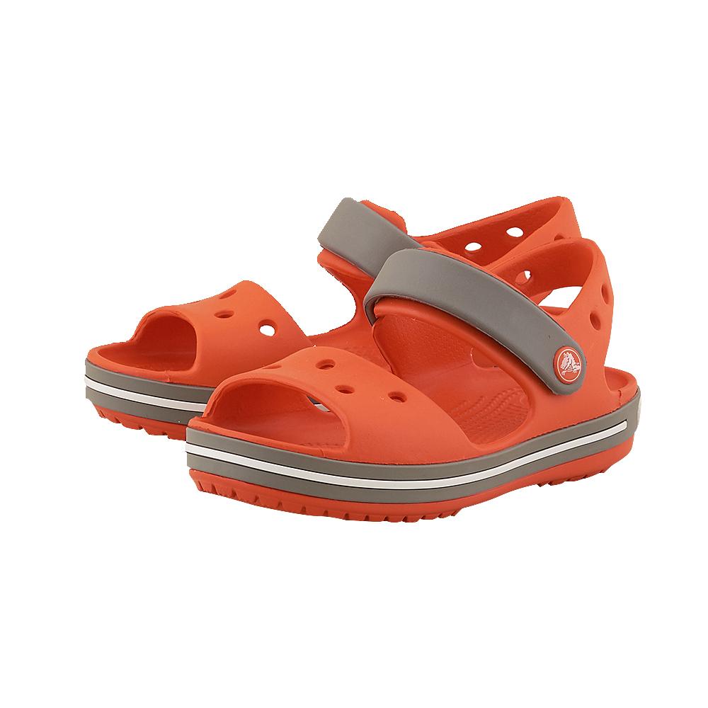 Crocs - Crocs CR12856-2 - ΠΟΡΤΟΚΑΛΙ/ΓΚΡΙ