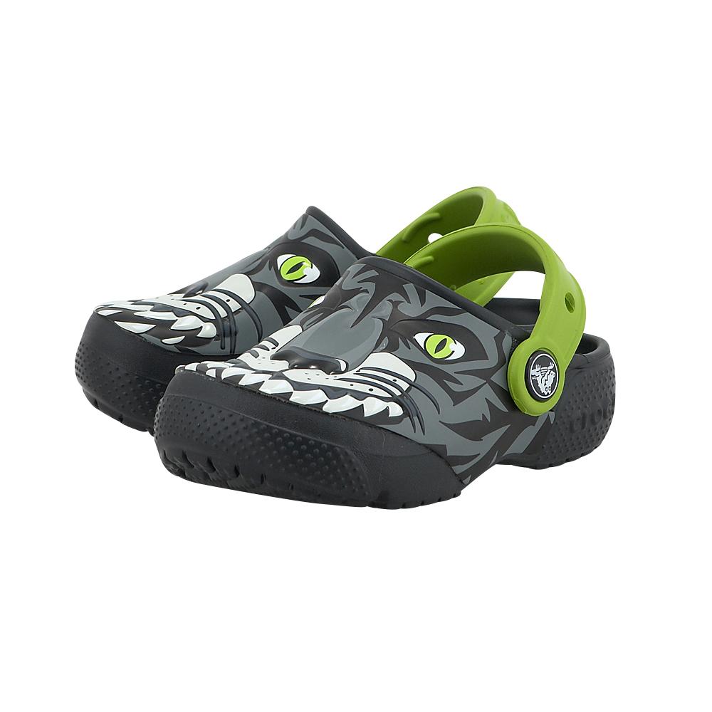 Crocs - Crocs CR204119-2 - ΜΑΥΡΟ/ΓΚΡΙ