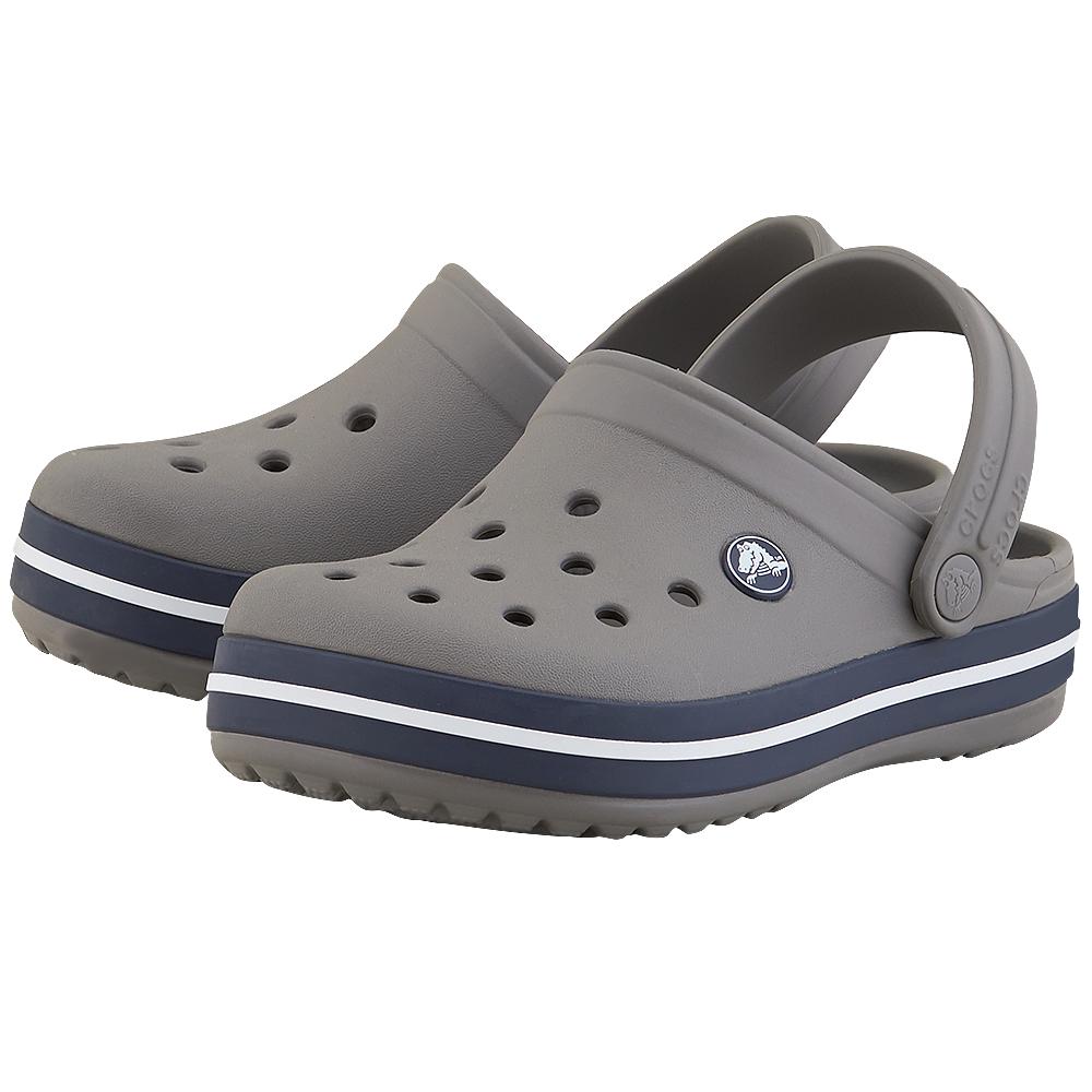 Crocs - Crocs Crocband Clog CR204537-2 - ΓΚΡΙ ΣΚΟΥΡΟ