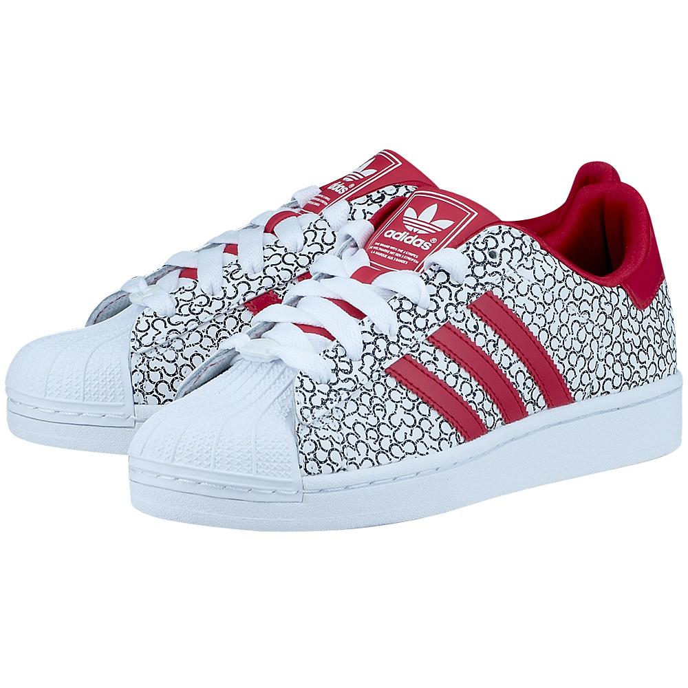 cef186f7ea1 adidas Superstar 2 W λευκο/κοκκινο D65478-3 | MYSHOE.GR