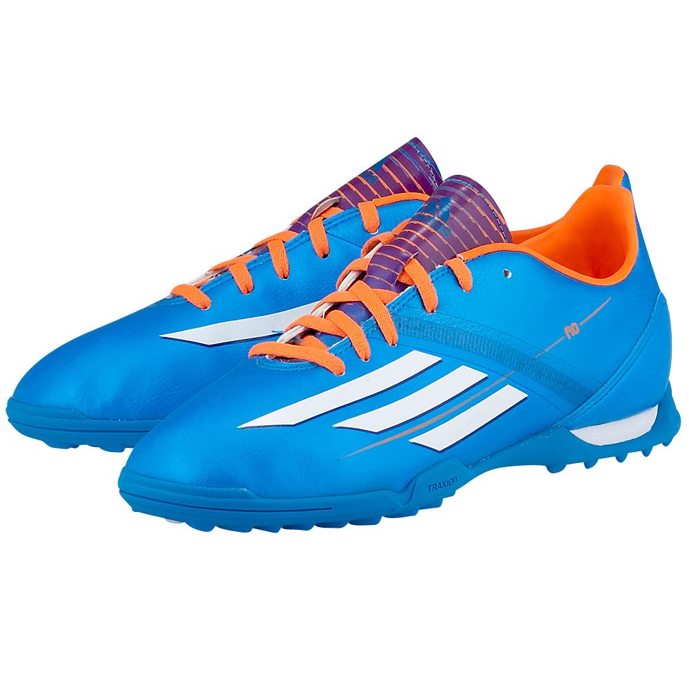 adidas Performance - adidas Performance F10 TRX TF j D67209-2. - ΜΠΛΕ outlet   παιδικα   αθλητικά   ποδοσφαίρου