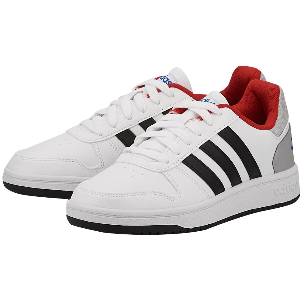 adidas Sport Inspired - adidas Vs Hoops 2 K DB1493 - ΛΕΥΚΟ/ΜΑΥΡΟ