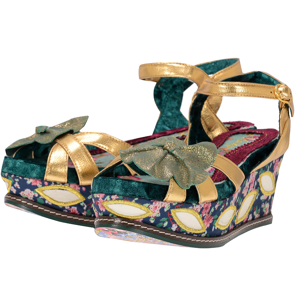 Irregular Choice – Irregular Choice FLOWER_BUD. – ΧΡΥΣΟ