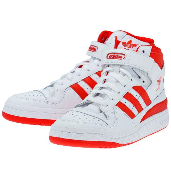fc01a4bd6d7 Adidas Forum Mid λευκο/κοκκινο G19484-4 | MYSHOE.GR
