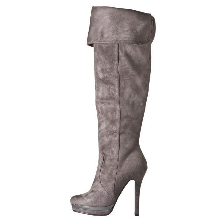 G375918 ΓΚΡΙ 1 - Γυναικεια Παπουτσια Μποτες Γαλότσες Gardini G3759181