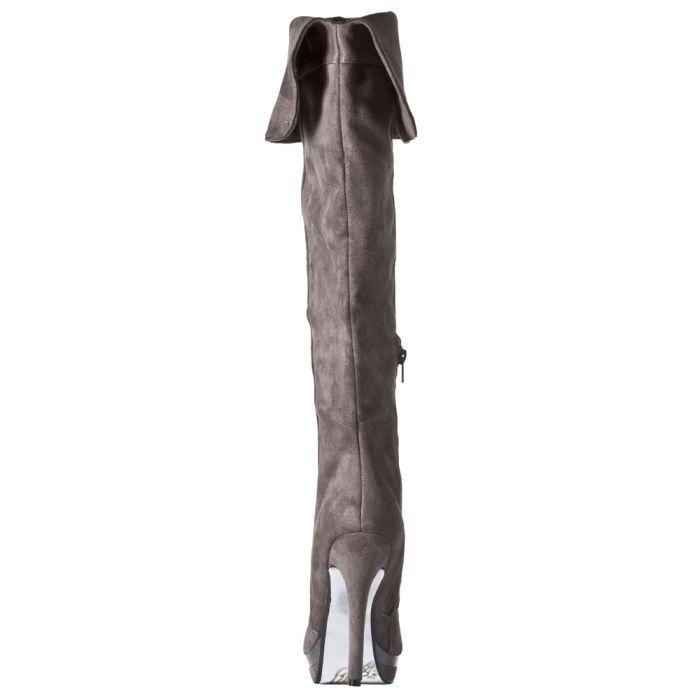 G375918 ΓΚΡΙ 3 - Γυναικεια Παπουτσια Μποτες Γαλότσες Gardini G3759181