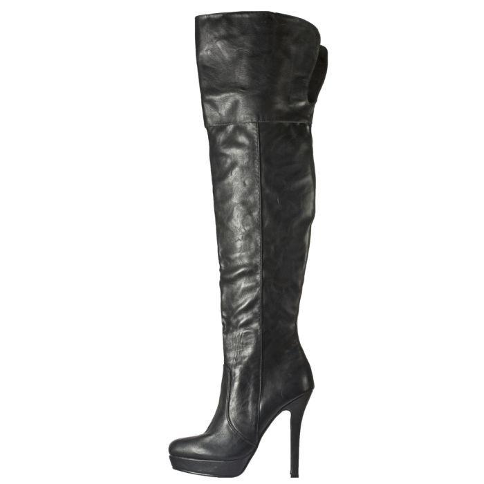 G375926 ΜΑΥΡΟ 1 - Γυναικεια Παπουτσια Μποτες Γαλότσες Gardini G375926