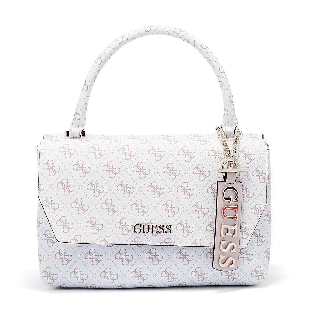Guess - Guess Maci Top Handle Flap HWSG72-95210-91 - λευκο
