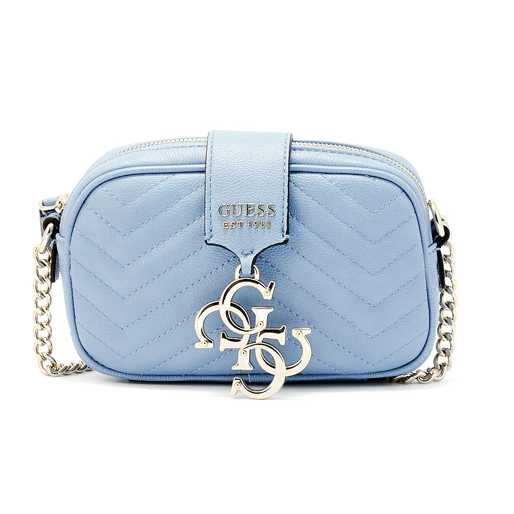 Guess - Guess Violet Mini Crossbody HWVG72-94700-001P - μπλε