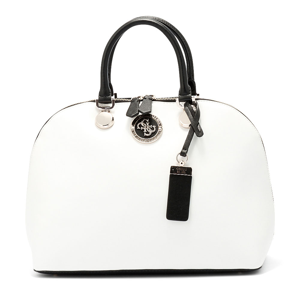 Guess - Guess Landon Dome Satchel HWVG72-98070-9100 - λευκο