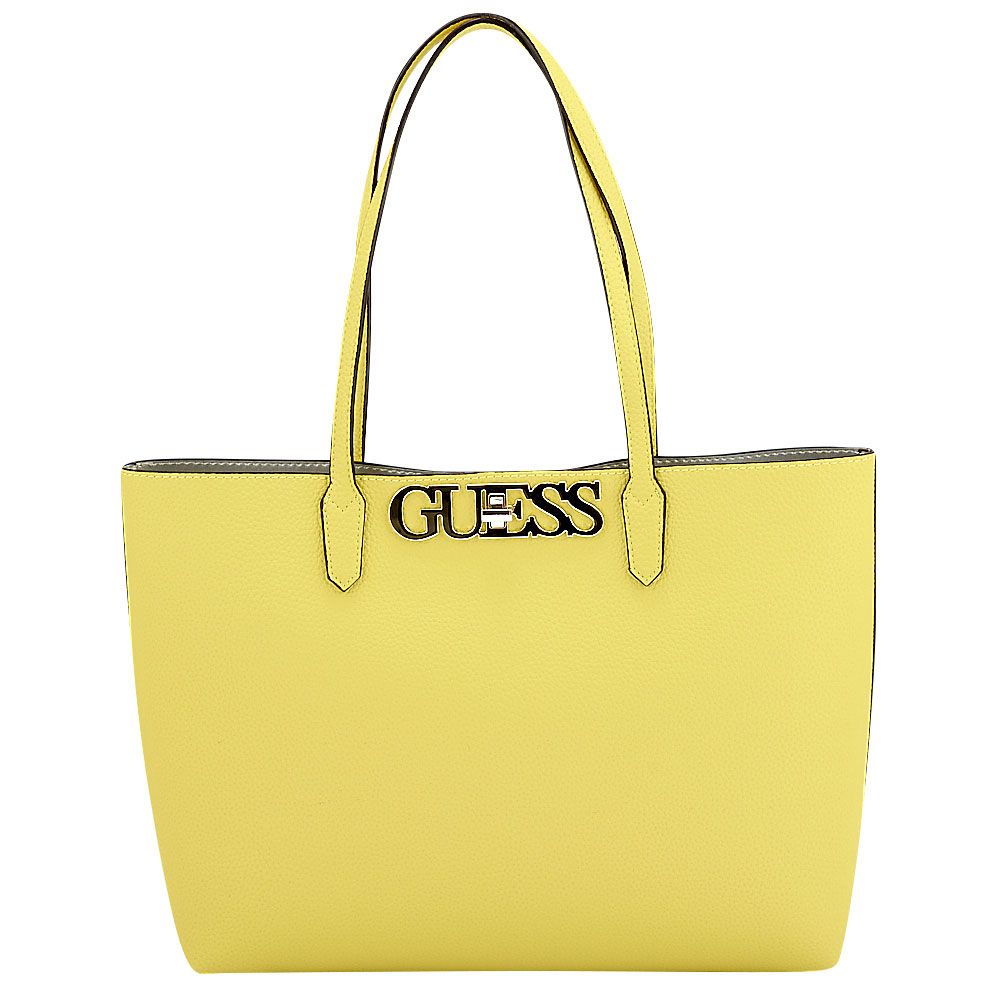 Guess - Guess Uptown Chic Barcelona Tote HWVG73-01230-6969 - κιτρινο