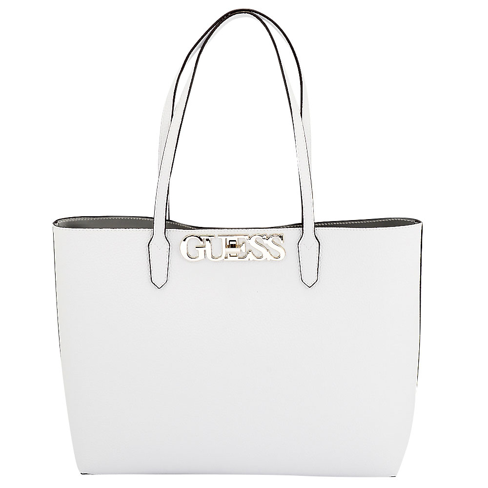 Guess - Guess Uptown Chic Barcelona Tote HWVG73-01230-91 - λευκο