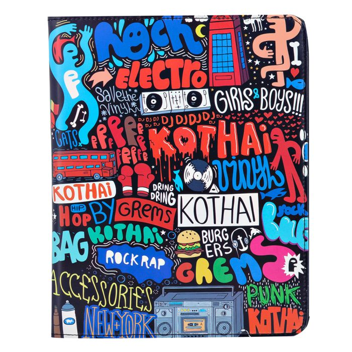 Kothai - Kothai I-PAD Case Grems IC11. - ΜΑΥΡΟ outlet   αξεσουαρ   θήκες για laptop tablet pc