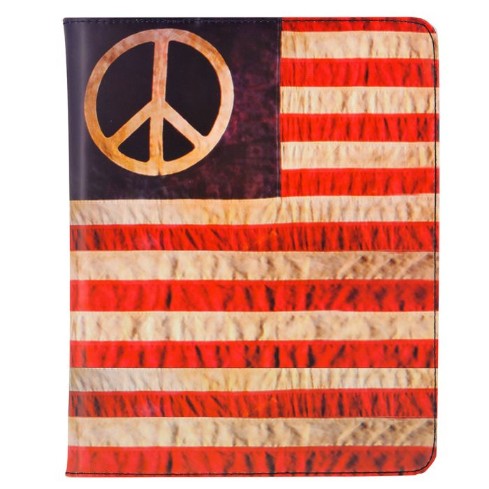 Kothai - Kothai I-PAD Case Hippy Flag IC4 - ΜΑΥΡΟ outlet   αξεσουαρ   θήκες για laptop tablet pc