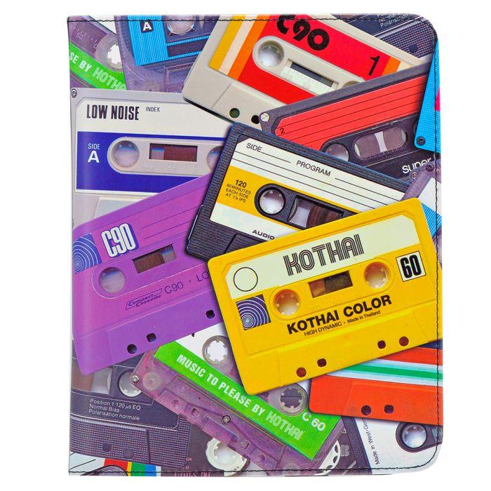 Kothai - Kothai I-PAD Case Cassettes IC6. - ΜΑΥΡΟ