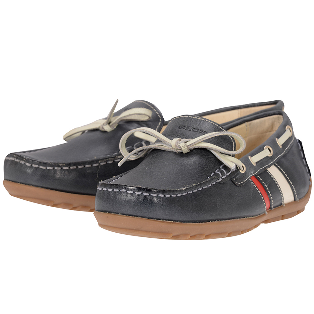 Geox - Geox J42G5A - ΜΠΛΕ outlet   παιδικα   παιδικα   loafers