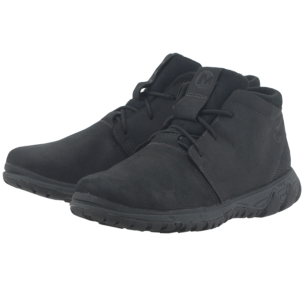 Merrell - Merrell All Out Blazer Chukka North J49649 - ΜΑΥΡΟ