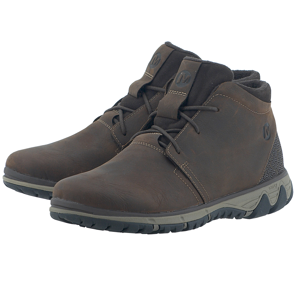 Merrell – Merrell All Out Blazer Chukka North J49651 – ΚΑΦΕ ΣΚΟΥΡΟ