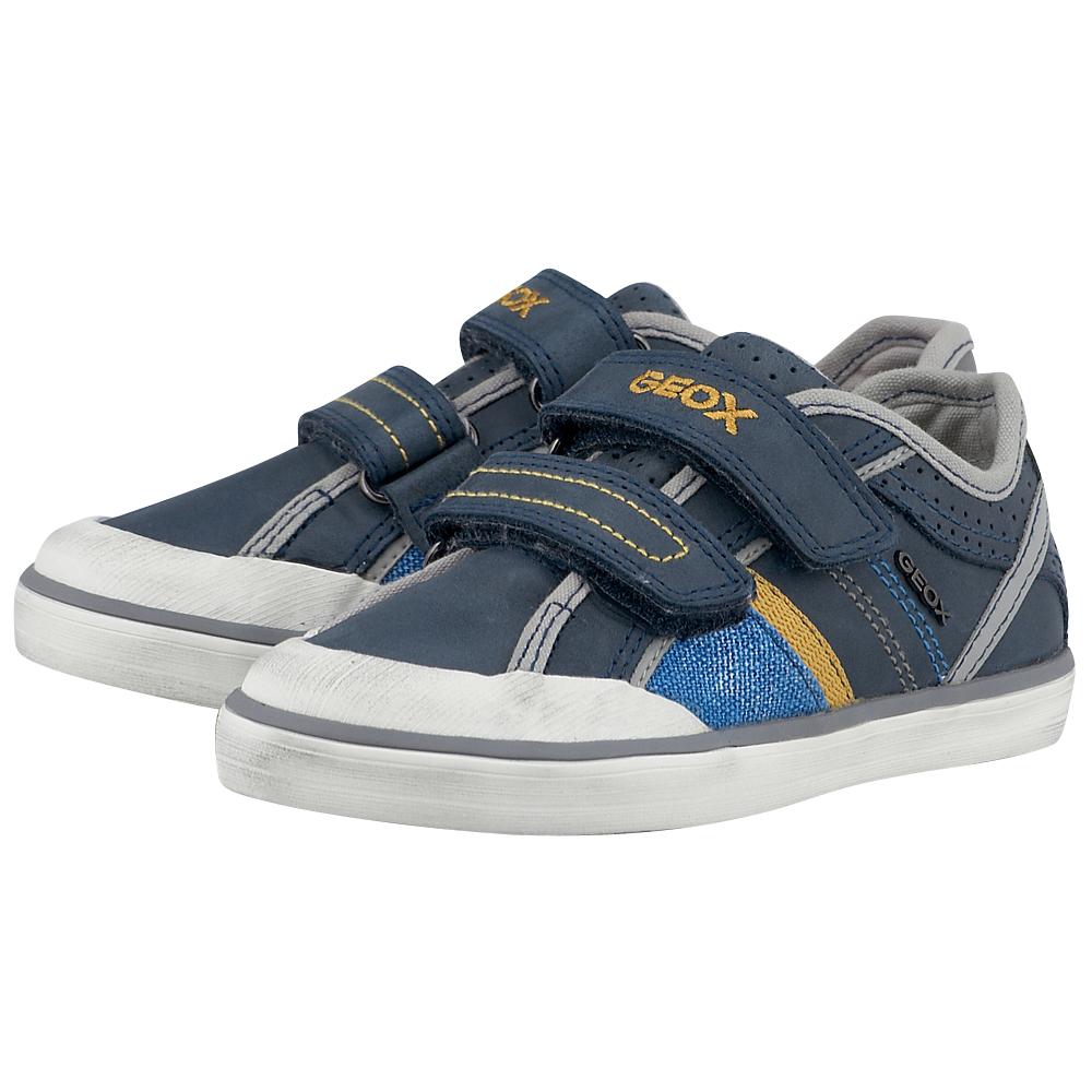d884ee493a2 Geox - Geox J52A7A-1 - ΜΠΛΕ ΣΚΟΥΡΟ • Παπούτσια Enma.gr