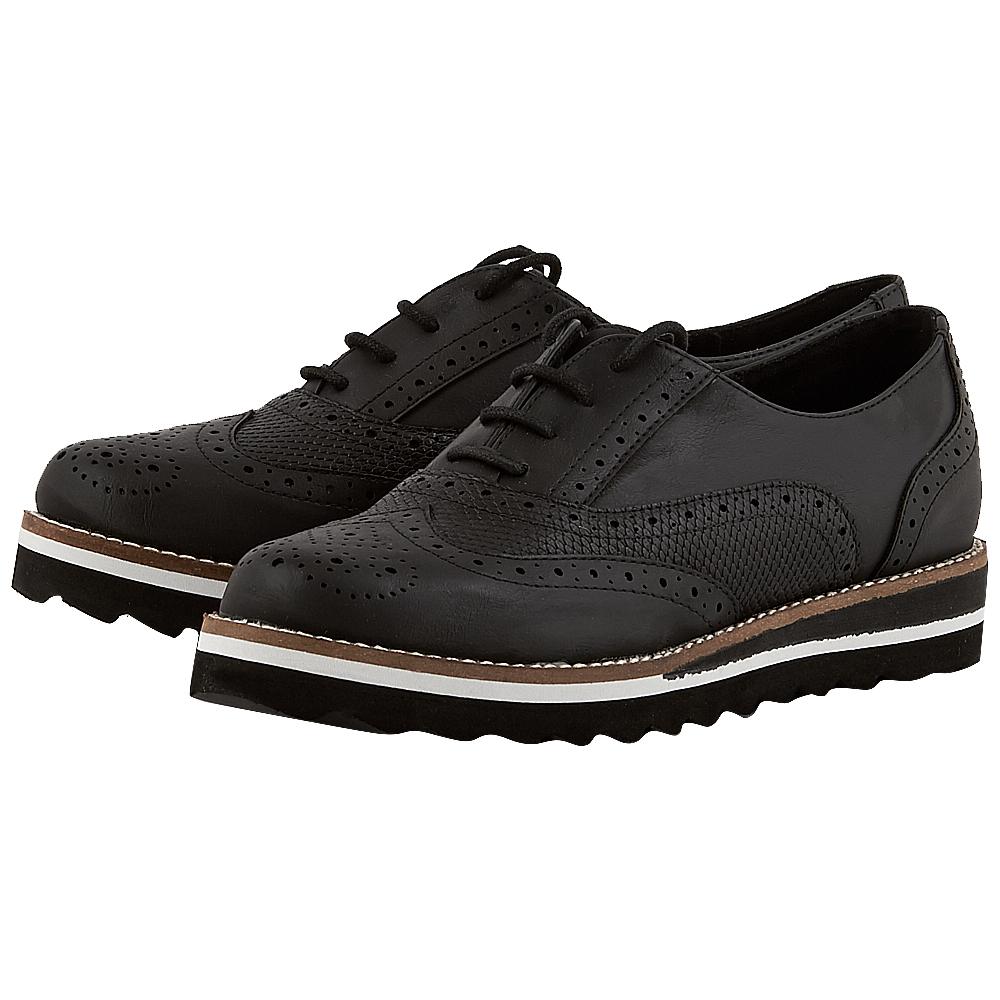 Exe - Exe JULIA_285 - ΜΑΥΡΟ γυναικεια   brogues   loafers