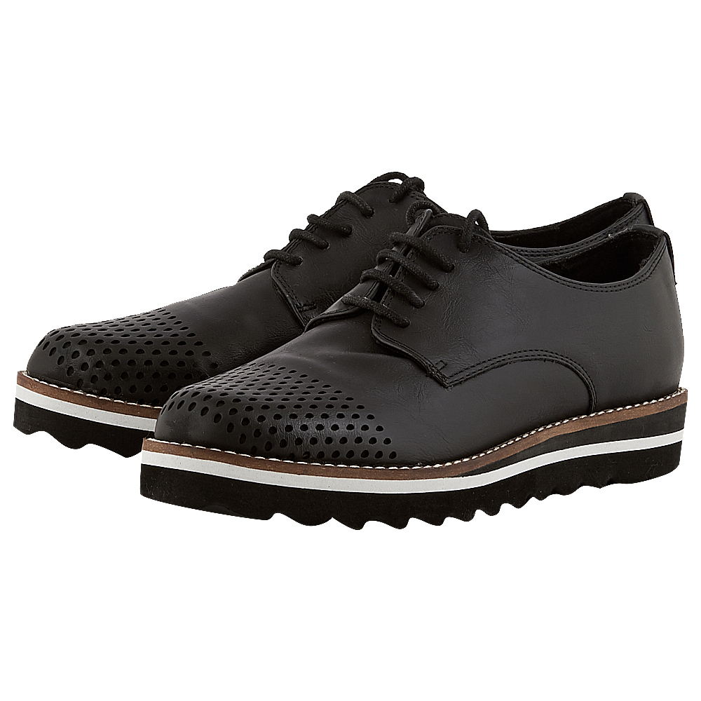 Exe - Exe JULIA_295 - ΜΑΥΡΟ γυναικεια   brogues   loafers