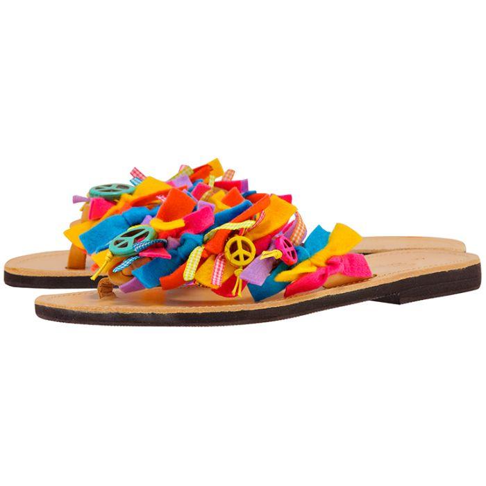 Handmade Sandals by nikki me – Handmade Sandals by nikki me KA64602-51 – ΔΙΑΦΟΡΑ ΧΡΩΜΑΤΑ