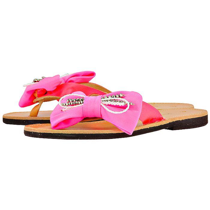 Handmade Sandals by nikki me - Handmade Sandals by nikki me KA64615-52 - ΦΟΥΞΙΑ