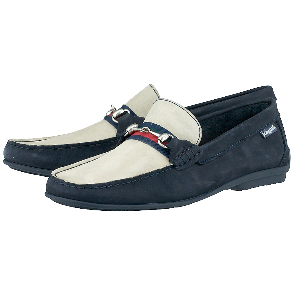 Kayak - Kayak KAY1897 - ΜΠΕΖ/ΜΠΛΕ outlet   ανδρικα   loafers   χωρίς κορδόνι